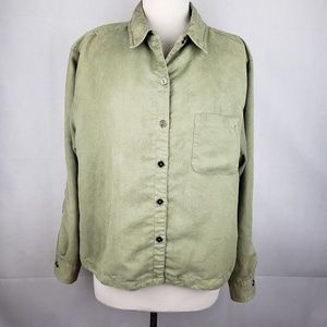 Chico's Tops - 🔵5/$50🔵 Chico's Green Long Sleeve Button Down 3